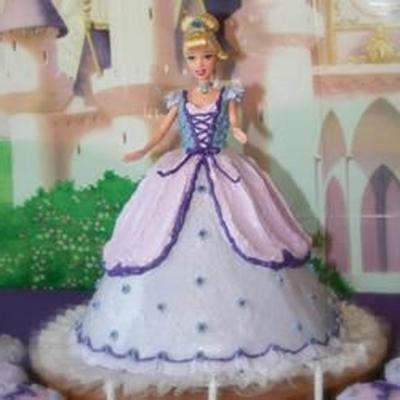 barbie pop cake