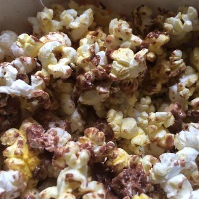 candy bar popcorn