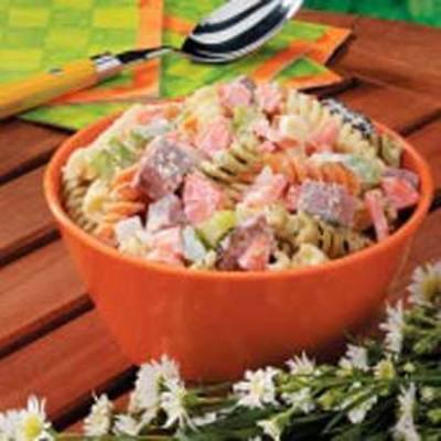 stevige pastasalade
