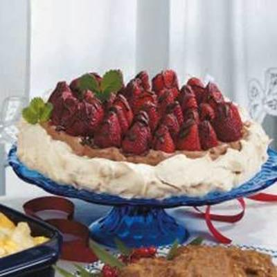 aardbeienchocolade-meringue