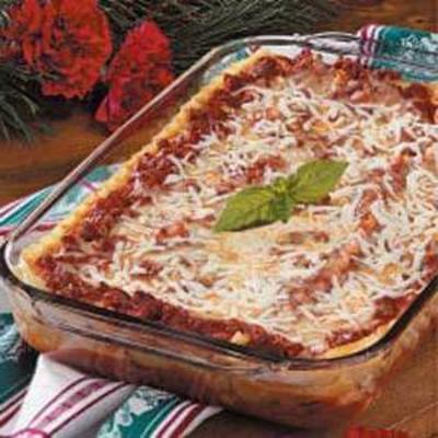 Zwitserse lasagne