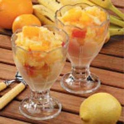 tropische fruitbrij