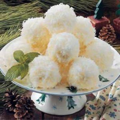 ijs sneeuwballen