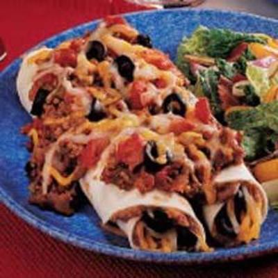 biefstuk enchiladas met biefstuk