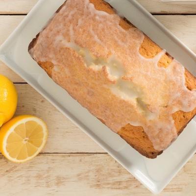 citroen pond cake met citroen glazuur