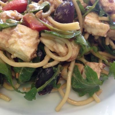 potluck spaghetti salade