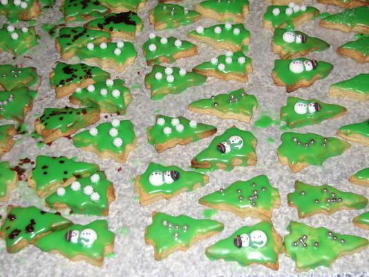 moeders traditionele Italiaanse koekjes