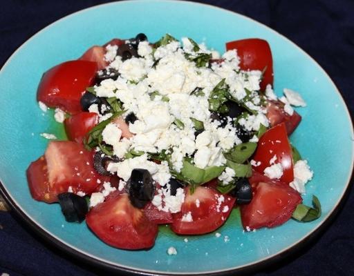 eenvoudige feta-salade