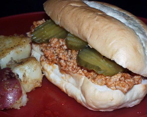 barbecue hamburgermix