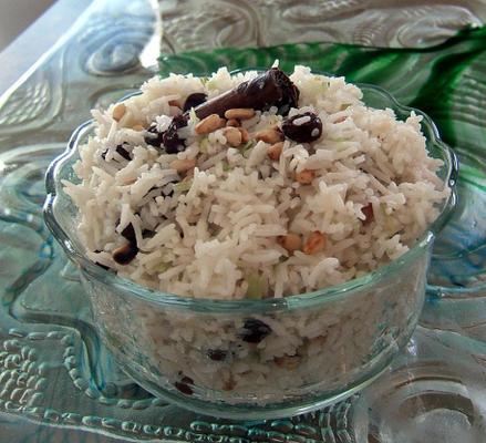 pulau nepalese basmati rijstgerecht