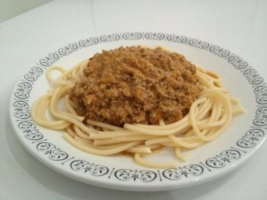 witte bolognese saus