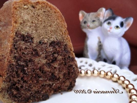 kokosnoot mokka cake