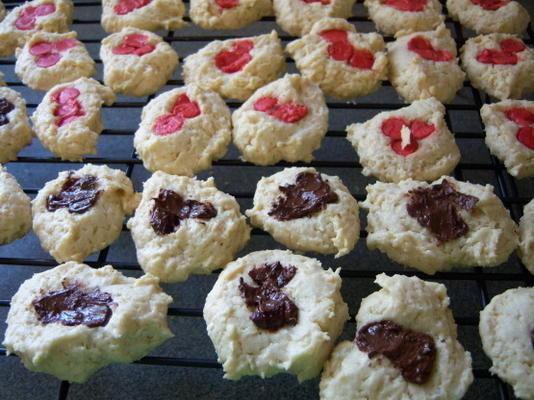 kokosroom roomkaas drop cookies