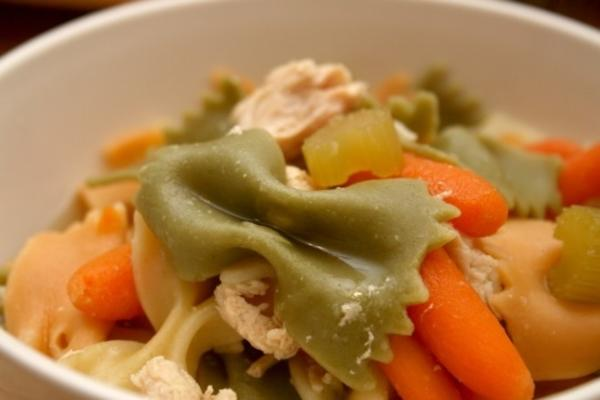 chicken noodle soup (crock pot)
