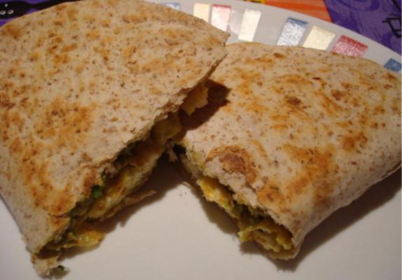 vegetarisch ontbijt quesadillas