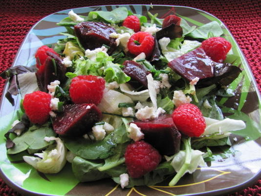 bieten en bessensalade