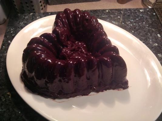 natte chocolade l'orange pond cake