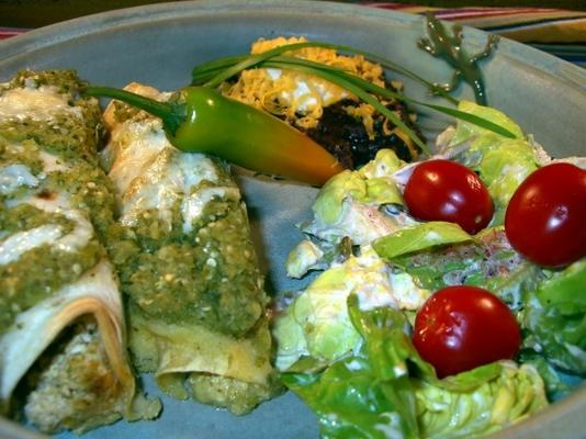cd's beroemde tofu-broccoli enchiladas