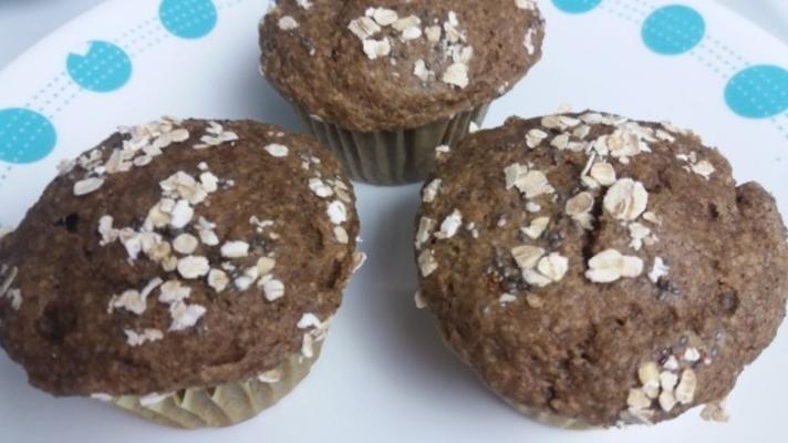 kaneel haver rogge muffins