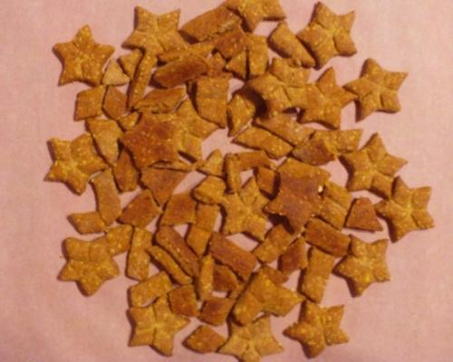 vegetarisch koekje voor hondenkoekjes behandelt