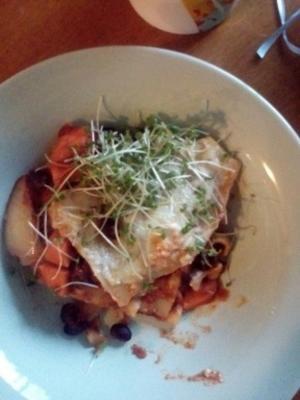 tomaten spinazie roomkaas lasagne