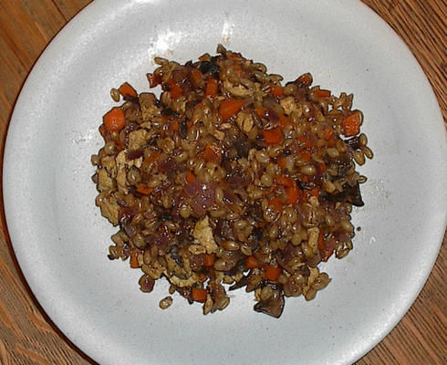 yummy volkoren tarwepilaf (wheat berry)