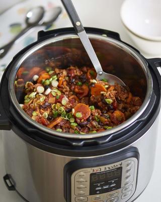 instant pot kalkoen chili